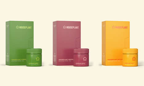 Houseplant's Colorful Cannabis Boxes Look Like Retro Movie Sleeves