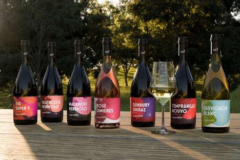 Abstract Wine Rebranding