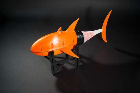 Speedy 3D-Printed Robotic Fish