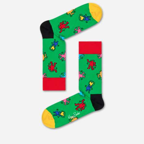 Pop Art-Inspired Socks