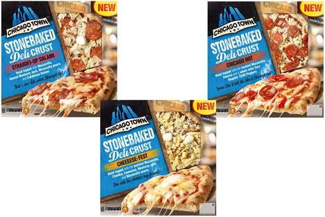 American-Style Frozen Pizzas