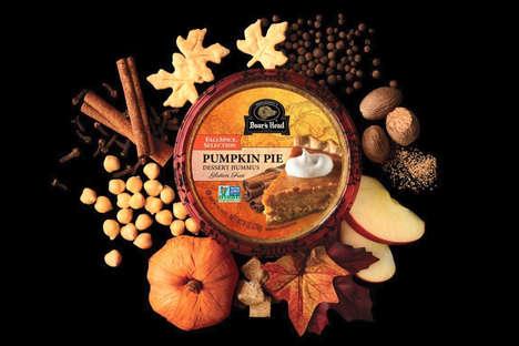 Pie-Inspired Hummus Desserts
