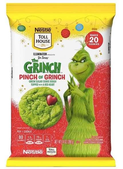 Villain-Themed Green Cookies