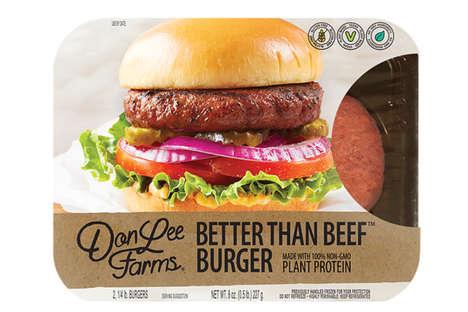 Meat-Mimicking Vegan Burgers