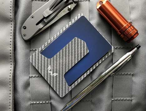 Razor-Thin Carbon Fiber Wallets