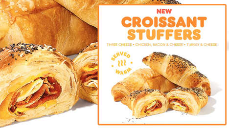 Ingredient-Packed QSR Croissants