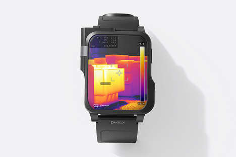 Thermal Imaging Firefighter Smartwatches