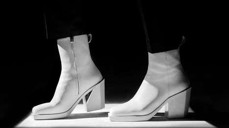Unisex High-Heel Boots