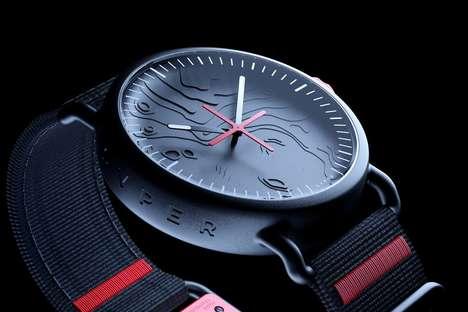 Lunar Landing-Inspired Timepieces