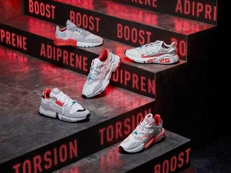 Sporty High-Res Footwear