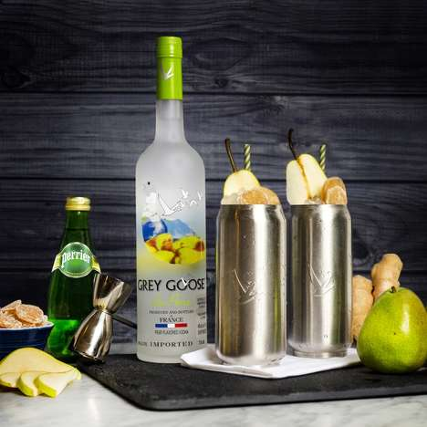 Fall-Ready Pear-Flavored Vodkas