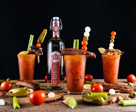 BBQ-Flavored Vodkas
