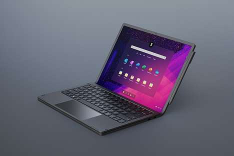 Flexing Display Laptop Concepts