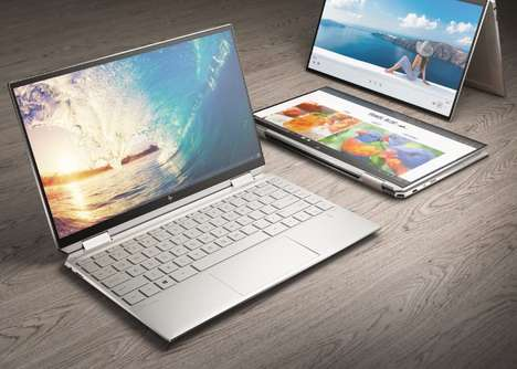 Convertible 4K OLED Laptops
