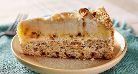 Sweet Cinnamon Bun Cheesecakes