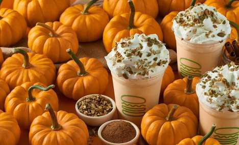 Custard-Based Pumpkin Shakes