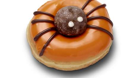Spooky Spider-Topped Donuts