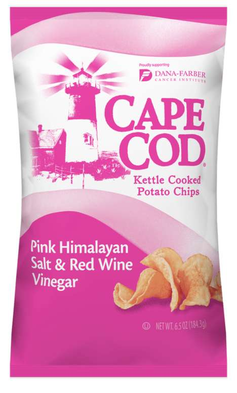 Limited-Edition Pink Potato Chips