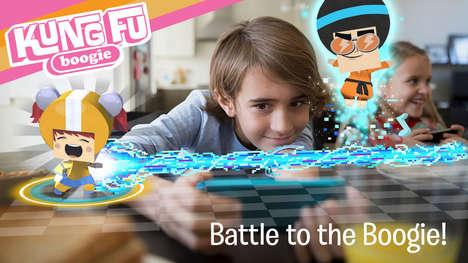 AR Dance Battle Games