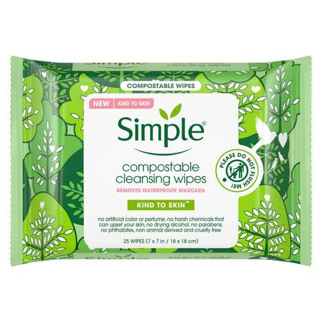 Compostable Cleansing Wipes