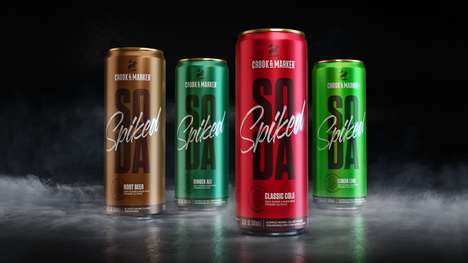 Zero-Sugar Spiked Sodas