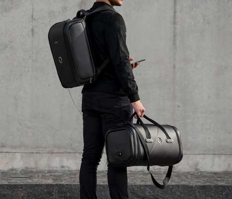 Trackable Smart Lock Luggage