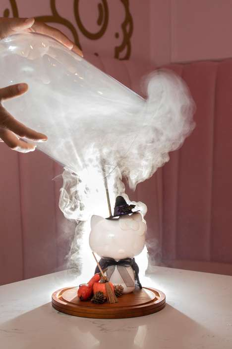Smoking Witches Brew Cocktails