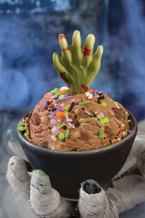 Zombified Ice Cream Treats
