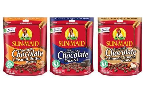 Fruit-Packed Chocolate Snacks