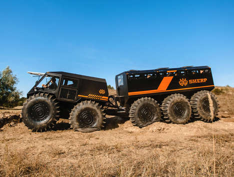 Extreme All-Terrain Vehicle Designs