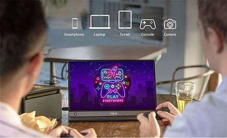 Portable HD Touchscreen Monitors