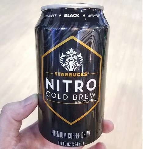 Canned Nitro Cold Brew