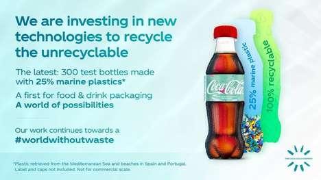 Marine Plastic Soda Packaging