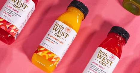 CBD-Infused Cold-Pressed Juices