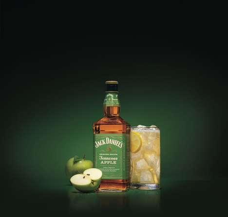 Sweet Apple-Flavored Whiskies