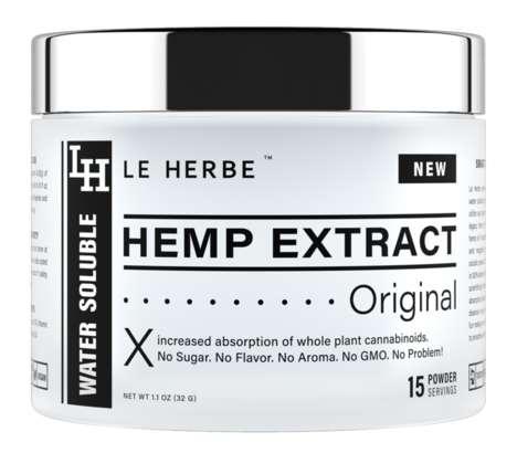 Hemp Extract Beverage Mixes