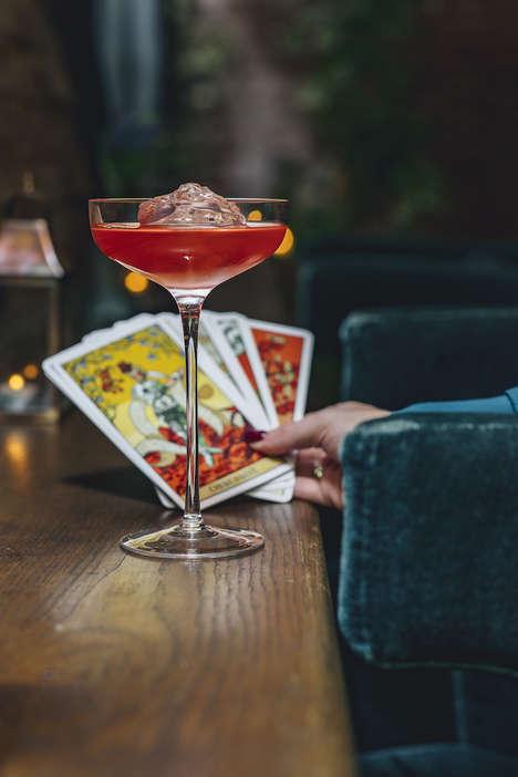 Tarot-Inspired Cocktail Menus