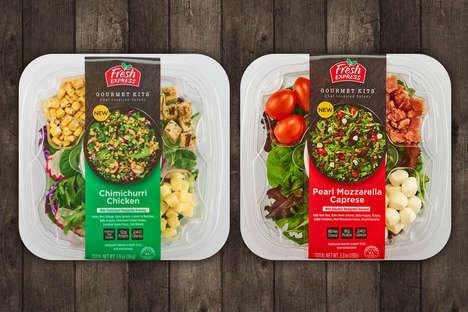 Chef-Inspired Salad Kits