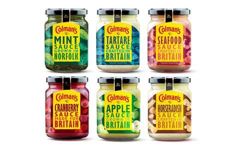 Heritage-Inspired Condiment Branding