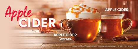 Dreamy Apple Cider Drinks