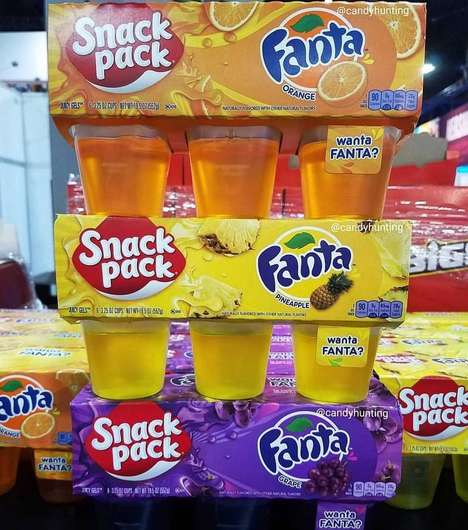 Soda Brand Gelatin Snacks