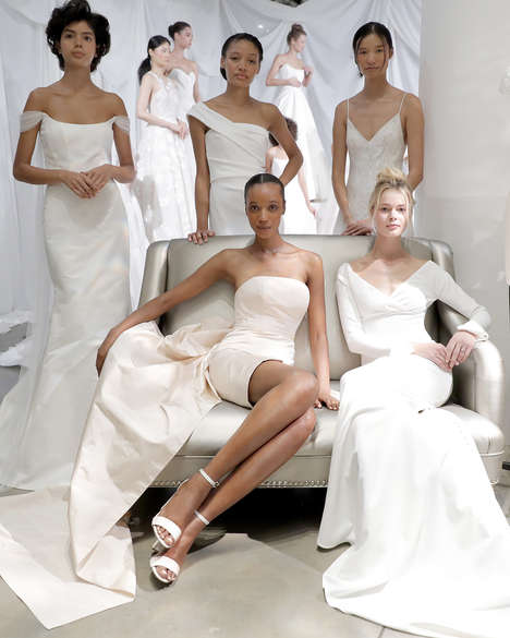 Wedding And Bridesmaids' Dresses Are