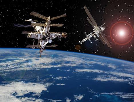 Space Lab-Grown Meats