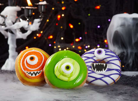 Personified Monster Donuts
