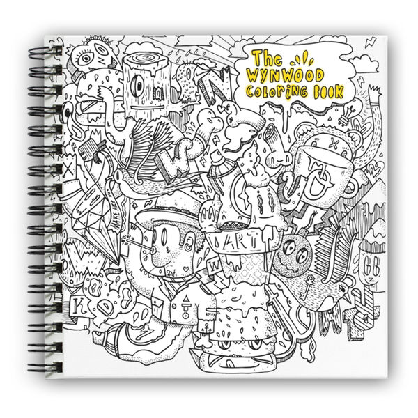 Artist-Centric Adult Coloring Books