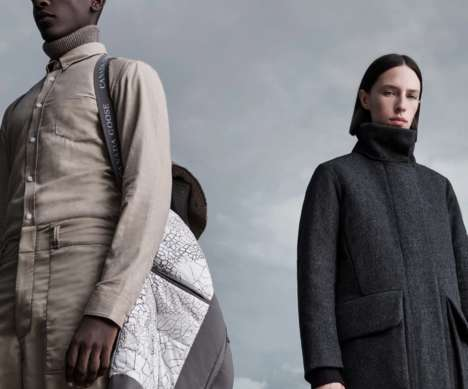 Glacial Shift-Inspired Coat Collections