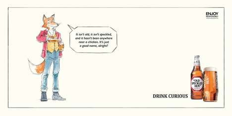 Ironic Witty Beer Campaigns