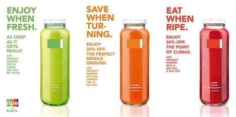 Freshness-Indicating Smart Labels