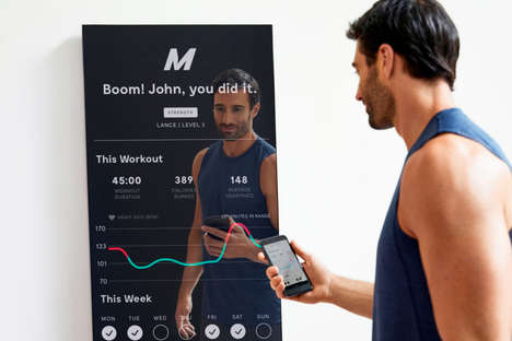 Personalized Fitness Mirrors