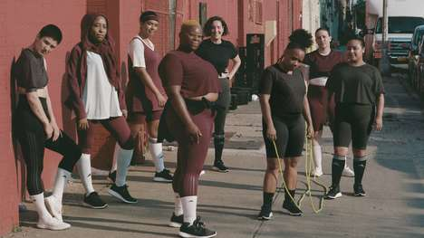 Size-Inclusive Collaborative Activewear